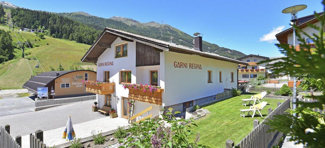 Garni Regina a San Valentino alla Muta | L'alloggio per la vostra vacanza in Val Venosta/Alto Adige