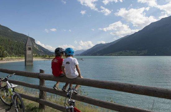 Vinschgau Marketing Familien Radwandern Laas Schlanders Burgeis