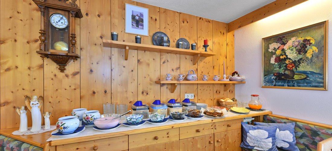 Ihr abwechslungsreiches Frühstück im Garni im Vinschgau