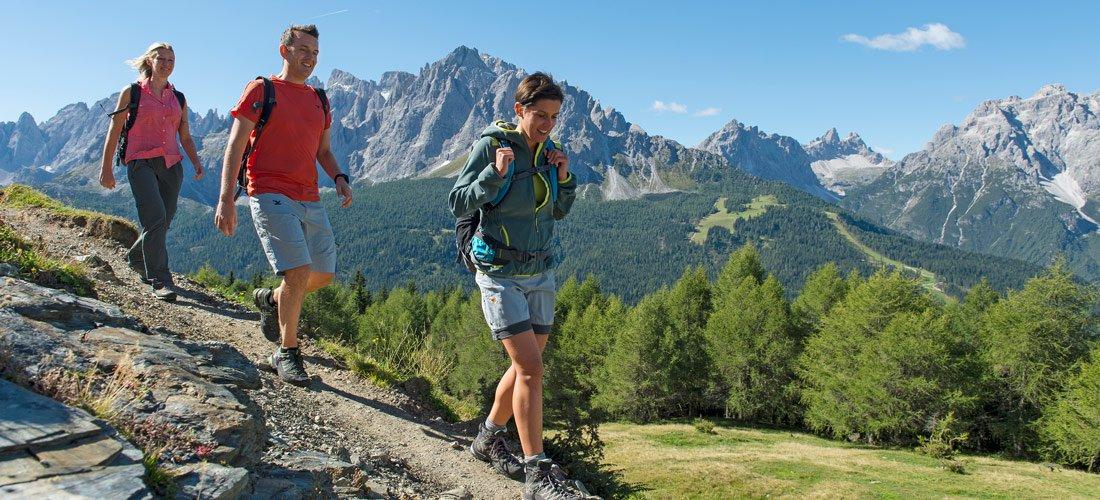 Wandern & Sommerskifahren im Vinschgau